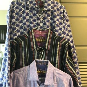 Robert Graham Shirts - 🔥Bundle deal! Robert Graham 3 shirt set